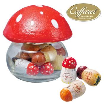 イタリアお土産   カファレル Caffarel きのこポット チョコレート【171005】