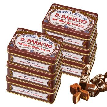 イタリアお土産 | バルベロ トリュフチョコレート ミニ缶 6缶セット【171009】