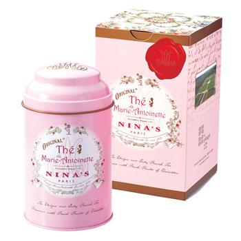 フランスお土産   ニナス NINA'S マリーアントワネット リーフティー缶【171063】