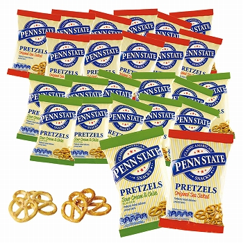 イギリスお土産 | ペンステイト ミニプレッツェル 2種24袋セット【171149】