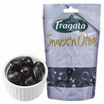 スペインお土産 | フラガタ スナックオリーブ シーソルト 8袋セット【171174】