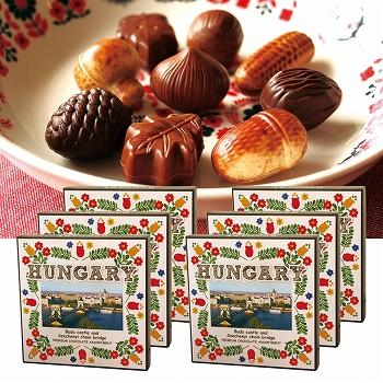 ハンガリーお土産 | ハンガリー アソートチョコレート 6箱セット【171242】