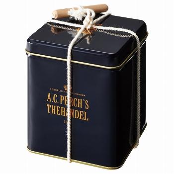 デンマークお土産 | A.C. パークス クイーンズブレンド スクエア リーフティー缶【171425】
