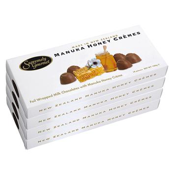 ニュージーランドお土産 | マヌカハニー クリーム チョコレート 4箱セット【185073】
