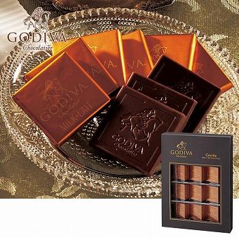 [ラッピング付/包装紙:アンティークゴールド] GODIVA ゴディバ ミルクチョコレート【171318】