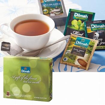 モルディブ・スリランカお土産 | ディルマ ギフトオブティー 紅茶ティーバッグ 4種セット【174053】