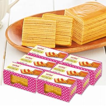 シンガポールお土産 | レイヤーケーキ 6箱セット【176201】