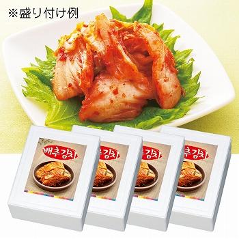 韓国お土産 | 白菜キムチ 4箱セット [別送][代引不可][翌日配送不可]【F78001】
