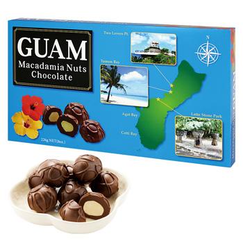 グアムお土産 | グアム マカデミアナッツチョコレート 1箱【184001】