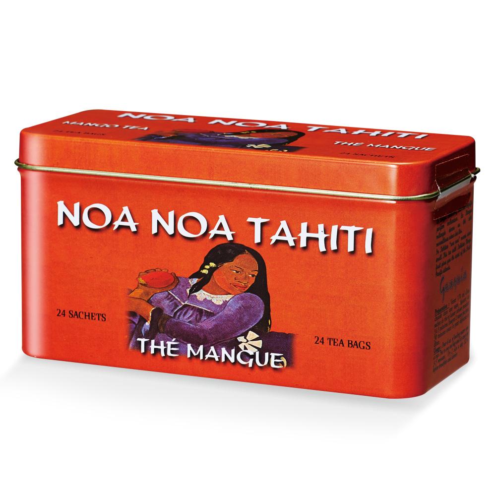 タヒチお土産 | ノアノア マンゴーフレーバー ティーバッグ【991027】
