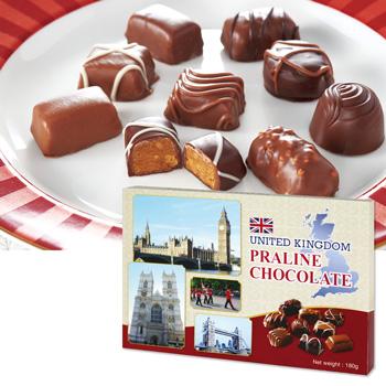 イギリスお土産 | イギリス プラリネチョコレート 1箱 【171409】