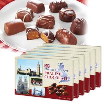 イギリスお土産 | イギリス プラリネチョコレート 6箱セット【171411】