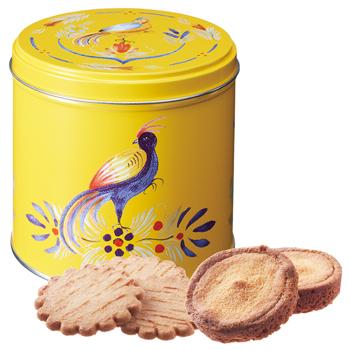 フランスお土産 | ガレットバタービスケット オワゾー缶【181061】