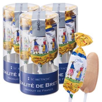 フランスお土産 | シュセット キャラメルキャンディ 3個セット【181062】