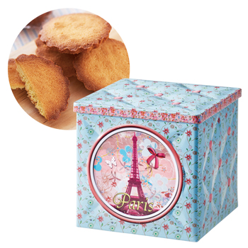 フランスお土産 | モルデオ ブルターニュガレット キルト缶【181068】