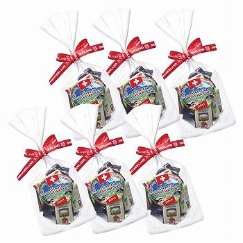 スイスお土産 | スイス ナポリタンチョコレート 6袋セット【181216】