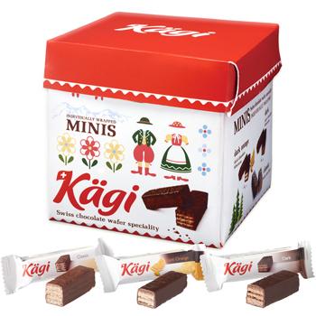 スイスお土産 | カーギ パーティーBOX チョコウエハース【181219】