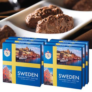 スウェーデンお土産 | スウェーデン フレークトリュフチョコレート6箱セット【181300】