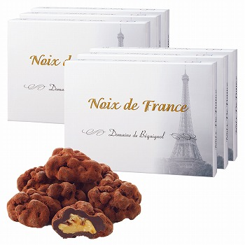 フランスお土産 | ベキニョール ノア・ド・フランス くるみダークチョコレート 6箱セット【181059】