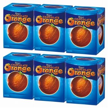 テリーズチョコレート オレンジミルク 6箱セット【181132】