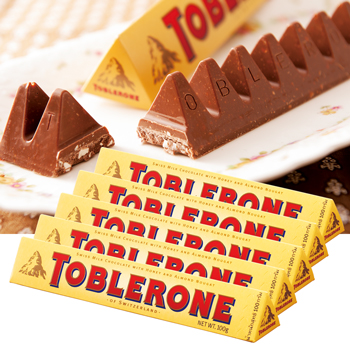 スイスお土産 | トブラローネ チョコレートバー 5箱セット【181214】