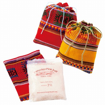 ペルーお土産   アンデスの天空塩 3袋セット【182124】