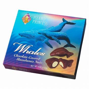 ハワイ・グアム・サイパンお土産 | アイランドプリンセス ホエールマカデミアナッツチョコレート 1箱【183014】