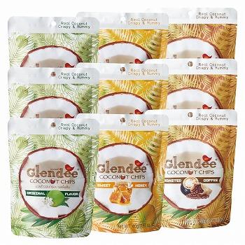 Glendee (グランディ) ココナッツチップス 3種9袋セット【183050】