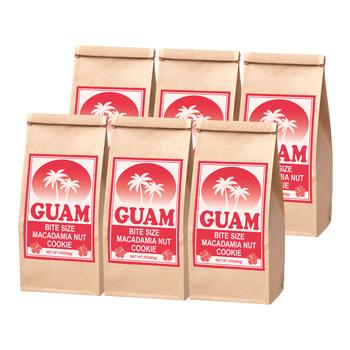 グアムお土産 | グアム マカデミアナッツクッキー 6袋セット 【184009】