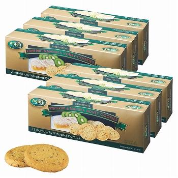 ニュージーランドお土産 | Aotea キウイ&マヌカハニークッキー 6箱セット【185062】