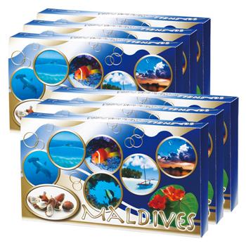 モルディブお土産 | モルディブ シーシェルチョコレート 6箱セット【184045】