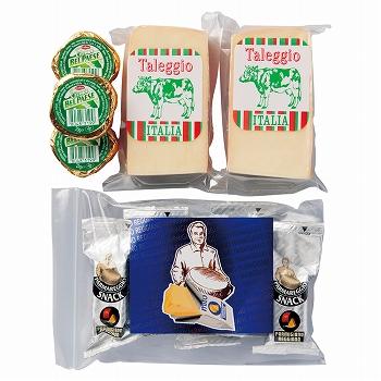 イタリアお土産 | イタリア チーズセット 【F51508】