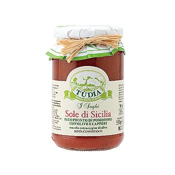 イタリアお土産 | シチリア風トマトソース 【105431】