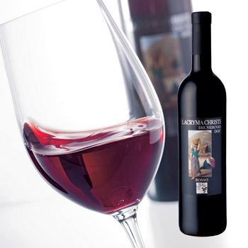 イタリアお土産   ラクリマ クリスティー 赤ワイン【R71002】