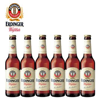 ドイツお土産 | ドイツビール エルディンガー ヴァイスビール 330ml 6本セット  【R01390】