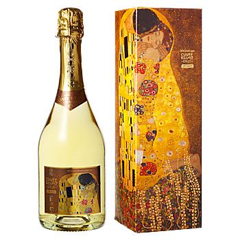 オーストリアお土産 | キューベ・クリムト スパークリングワイン【R71077】
