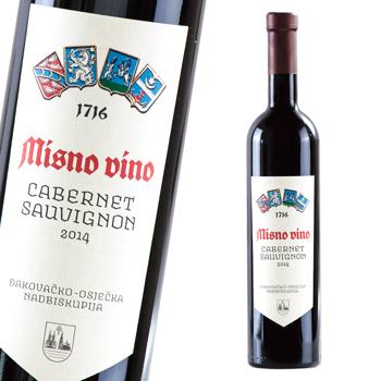 クロアチアお土産 | ミスビーナ カベルネ・ソーヴィニヨン 赤ワイン やや重口【R81081】