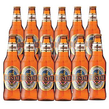 [賞味4/18]ペルーお土産 | ペルー クリスタルビール 12本セット【R72040】