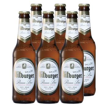 ドイツお土産 | ビッドブルガー プレミアム・ピルス ビール 6本セット【R81038】