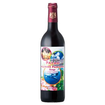 パラオお土産 | パラオワイン 赤 やや重口 1本【R84006】