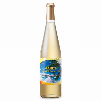 タヒチお土産 | タヒチパイナップルワイン やや甘口 1本【991059】