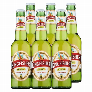 キングフィッシャービール 6本セット【R71057】