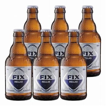 ギリシャお土産 | フィックス・ヘラス ラガービール 6本セット【R71090】