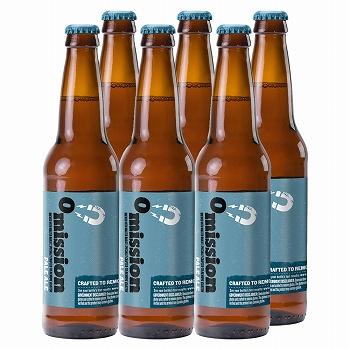 [賞味3/20]アメリカお土産 | オミッション ペールエール ビール 6本セット【R72001】