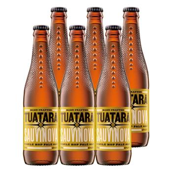 ニュージーランドお土産 | トゥアタラビール ソーヴィノーヴァ ペールエールビール 6本セット【R75014】