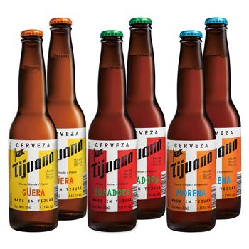 メキシコお土産 | メキシカンビールセット 3種6本セット(グエラ、バファドラ、モレナ)【R72054】