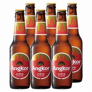 カンボジアお土産 | アンコールビール ラガービール 6本セット【R86012】