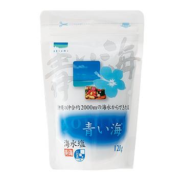 沖縄土産 | 青い海 海水塩[別送][代引・翌日配送不可]【J17268】