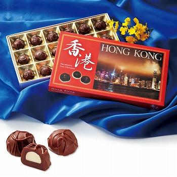 香港お土産   香港 マカデミアナッツチョコレート 1箱 [別送][代引不可][翌日配送不可]【177124】