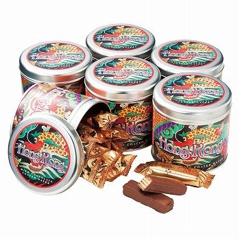 香港お土産 | 香港 チョコウエハース 6缶セット [別送][代引不可][翌日配送不可]【177128】